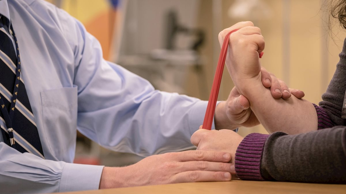 WVU's Hand Therapy program grows, increases care capacity and educational perks