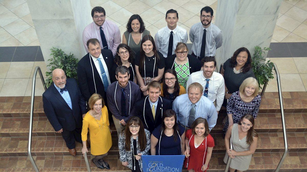 WVU School of Medicine Gold Humanism Honor Society earns top ranking