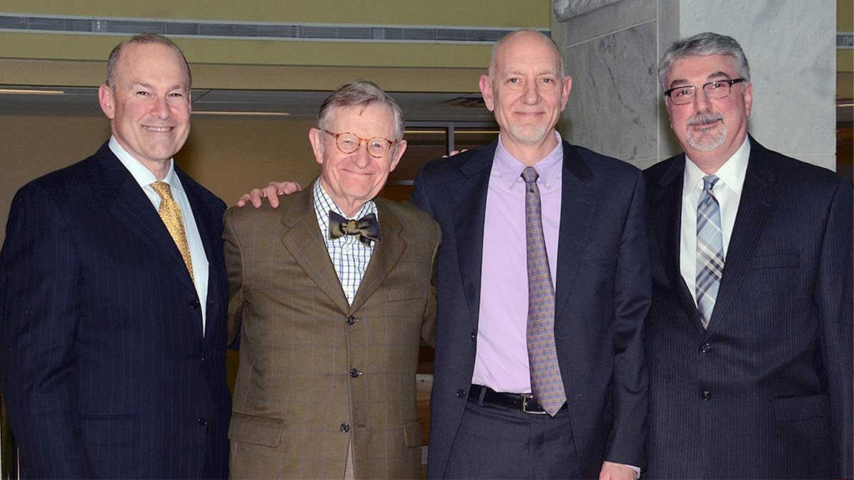WVU School of Medicine honors leading neuroscience researcher