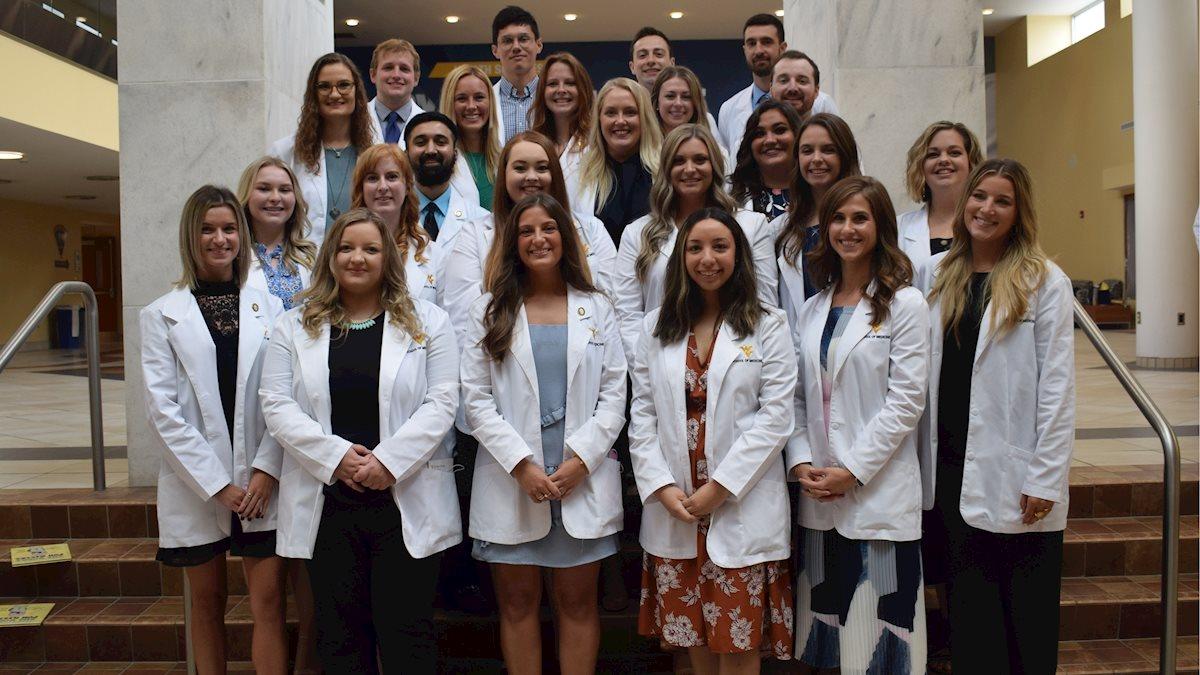 WVU School of Medicine PA Program holds inaugural White Coat Ceremony