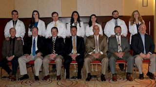 WVU School of Medicine students received white coats March 18