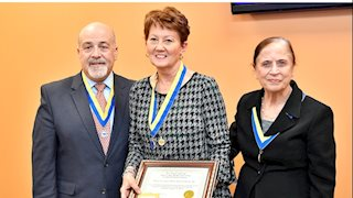 WVU School of Nursing Charleston's Dr. Theresa Cowan Inducted to WVU Health Sciences 2019 Academy of Excellence In Teaching and Learning