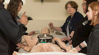WVU School of Nursing - Potomac State College Installs High-Tech Simulation Manikins