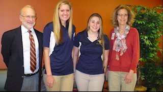 WVU student pharmacists donate to Comfort Fund